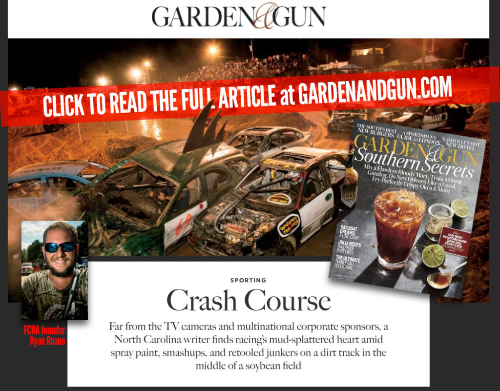 Garden and Guns Article on FCRA